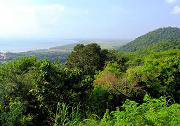 Kep National Park in Cambodia