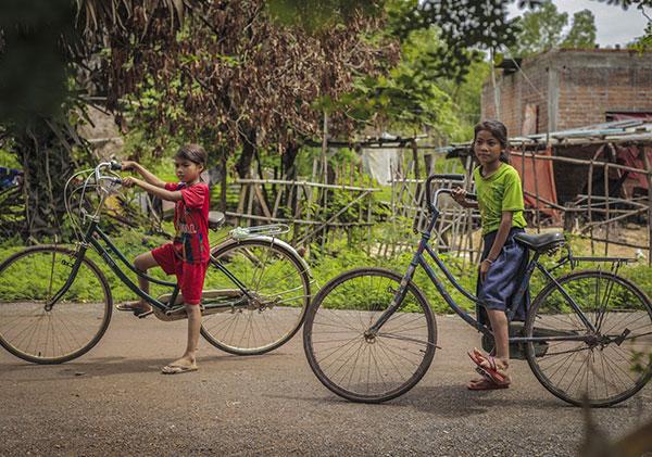 Cycling around Kampot, Cambodia