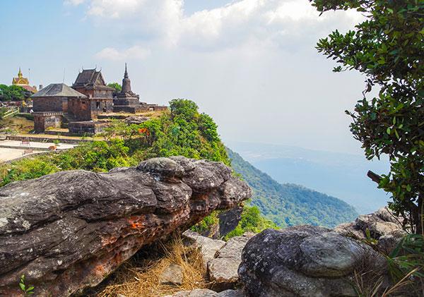 Wat Sampov Pram in Cambodia
