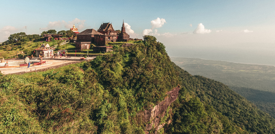 Hike at Bokor Hill Station in Cambodia