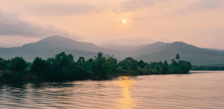 Teuk Chouu Rapids in Cambodia